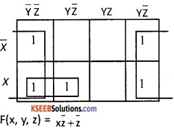 2nd PUC Computer Science Boolean Algebra Five Marks Questions and Answers 73