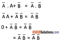 2nd PUC Computer Science Boolean Algebra Two Marks Questions and Answers 19