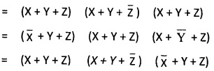 2nd PUC Computer Science Boolean Algebra Two Marks Questions and Answers 26
