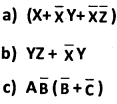 2nd PUC Computer Science Boolean Algebra Two Marks Questions and Answers 27