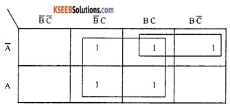 2nd PUC Computer Science Boolean Algebra Two Marks Questions and Answers 39