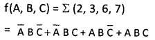2nd PUC Computer Science Boolean Algebra Two Marks Questions and Answers 41