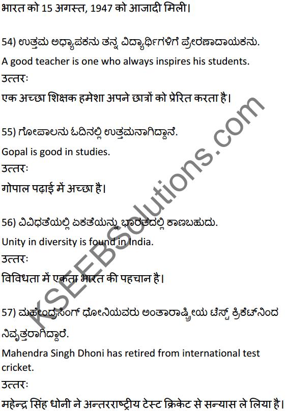 2nd PUC Hindi Workbook Answers अनुवाद 13