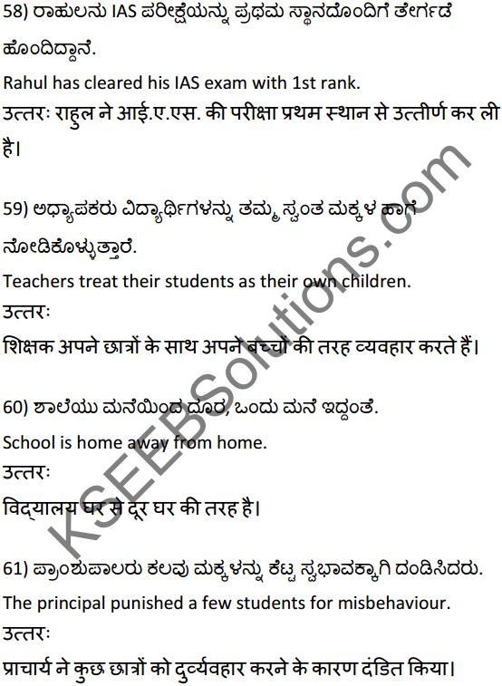 2nd PUC Hindi Workbook Answers अनुवाद 14