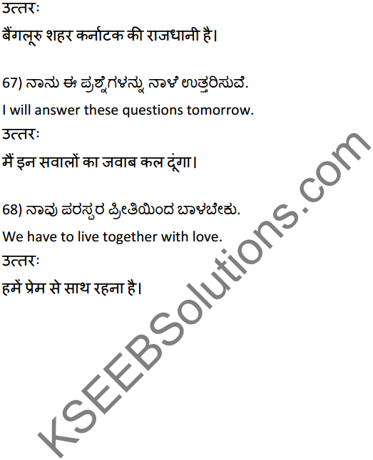 2nd PUC Hindi Workbook Answers अनुवाद 15