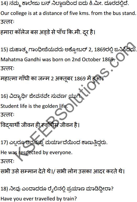 2nd PUC Hindi Workbook Answers अनुवाद 4
