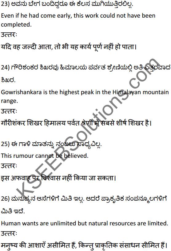 2nd PUC Hindi Workbook Answers अनुवाद 6