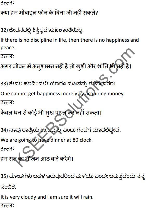 2nd PUC Hindi Workbook Answers अनुवाद 8