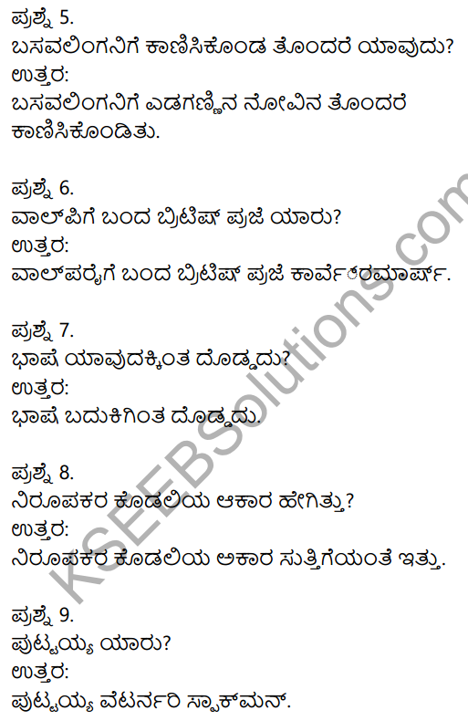 2nd PUC Kannada Previous Year Question Paper June 2017 2