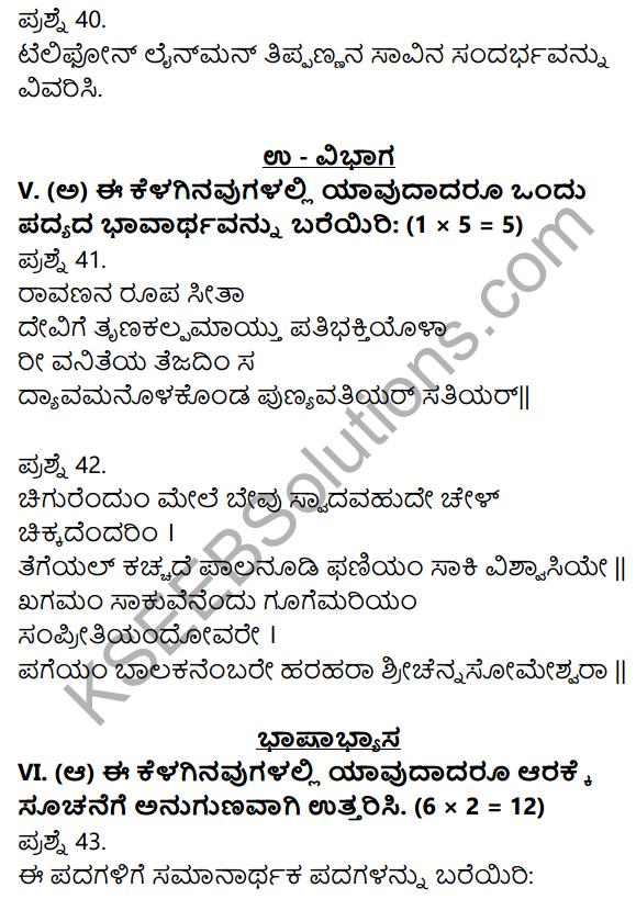 2nd PUC Kannada Previous Year Question Paper June 2018 8