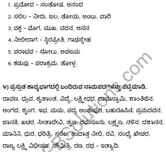 2nd PUC Kannada Textbook Answers Sahitya Sampada Chapter 1 Kadadida Salilam Tilivandade 59