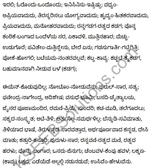 2nd PUC Kannada Textbook Answers Sahitya Sampada Chapter 19 Tirulgannada Belnudi 28