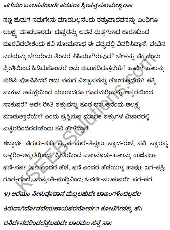 2nd PUC Kannada Textbook Answers Sahitya Sampada Chapter 4 Pageyam Balakanembare 4