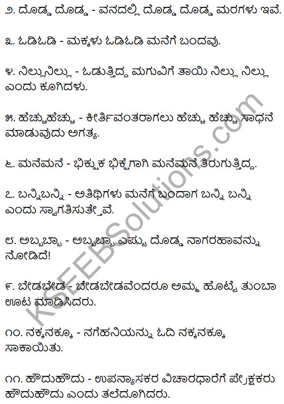2nd PUC Kannada Workbook Answers Chapter 6 Dwirukthi Galu 4