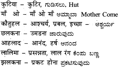 KSEEB Solutions for Class 7 Hindi Chapter 13 बोल ऊठी बिटिया 3
