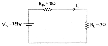 1st PUC Electronics Question Bank Chapter 2 Principles of Electricity, Network Theorems and AC Principles 26