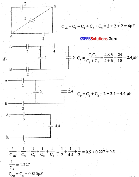 1st PUC Electronics Question Bank Chapter 4 Passive Electronic Components.10